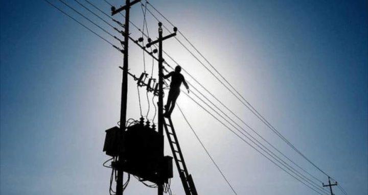 تحذيرات من نقص القدرة الكهربائية في نابلس خلال الشتاء