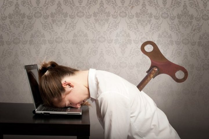 خيارات صحية لعلاج التعب في العمل