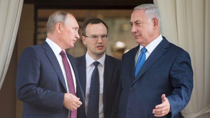 """نتنياهو يطلب من بوتين العفو عن """"سجينة الماريحوانا"""""""
