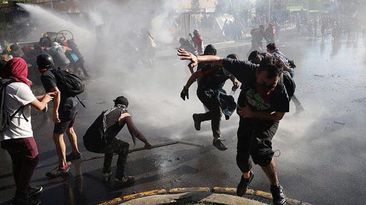 لتحقيق المساواة.. تواصل الاحتجاجات في تشيلي