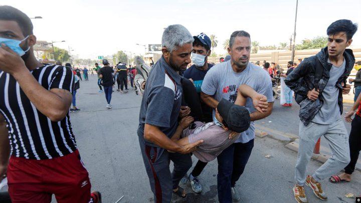 احتجاجات العراق: مقتل شخصين في بغداد