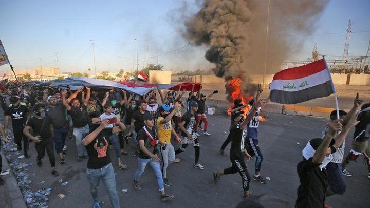 """العراق: مئات المحتجين يقتحمون""""المنطقة الخضراء"""""""