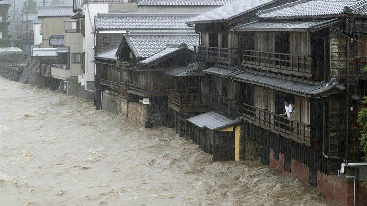 إعصار هاغيبيس يودي بحياة 10 أشخاص وإدراج 3 في عداد المفقودين