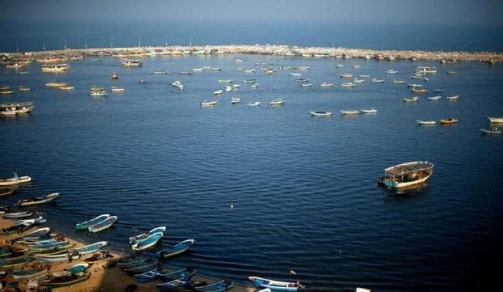 فقدان آثار صياد في عرض بحر غزة
