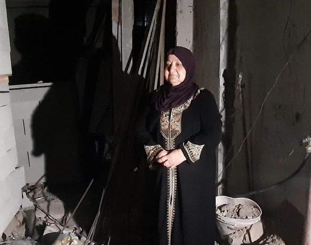 للمرة الخامسة..الاحتلال يهدم منزل أم ناصر حميد