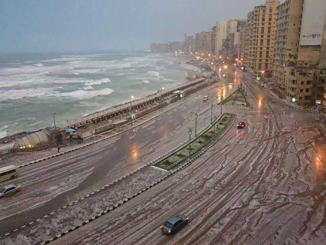 موعد انتهاء موجة الأمطار الغزيرة في مصر