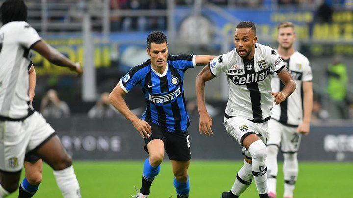 انتر ميلان يتعادل مع بارما في الدوري الإيطالي