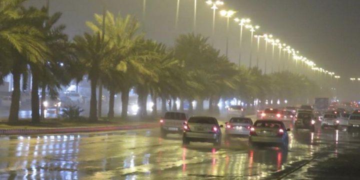 مصرع 7 أشخاص جراء الأمطار في منطقة حفر الباطن بالسعودية