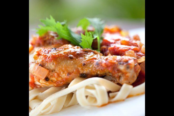 دجاج على الطريقة الإيطالية للرجيم