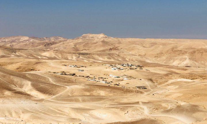 الاحتلال يقتحم قرية البقيعة ويوزع اوامر اخلاء وهدم