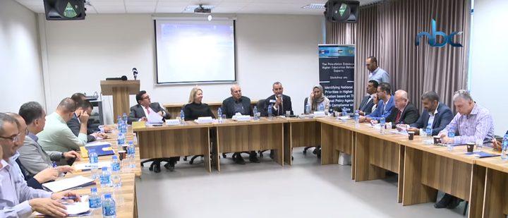جامعة النجاح تنظم ندوة لبعثة التعاون الفلسطيني الاوروبي للتعليم