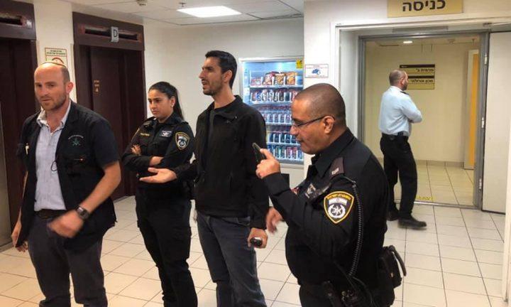شرطة الاحتلال تعتدي على متضامنين مع الاسيرة اللبدي في حيفا
