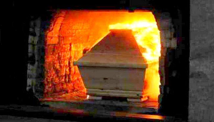 مُسنة تعود للحياة قبل لحظات من حرق جثتها !