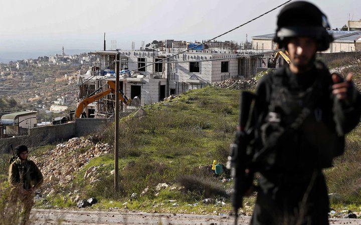 إخطارات بهدم ستة منازل في كوبر شمال رام الله