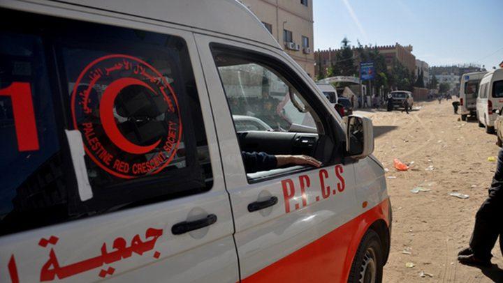 مصرع طفل بحادث سير شرق خان يونس