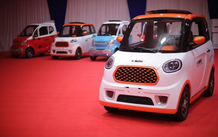 مصر.. استلام السيارة الكهربائية الجديدة E-MOTION
