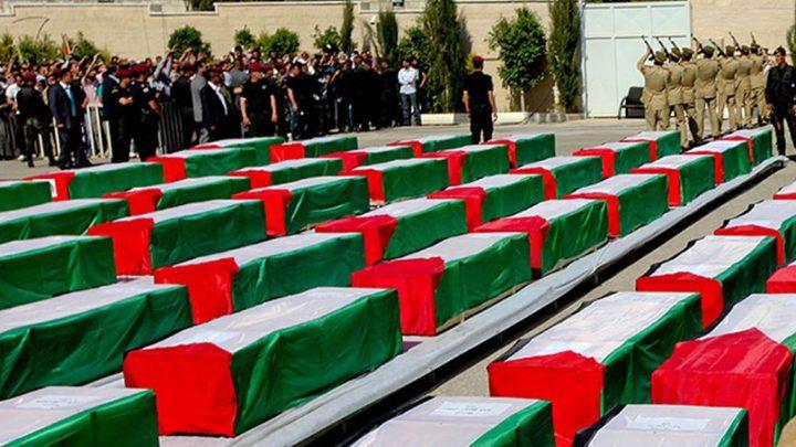 الاحتلال يقرر دفن جثماني الشهيدين ابو صبيح وقنبر في مقابر الأرقام