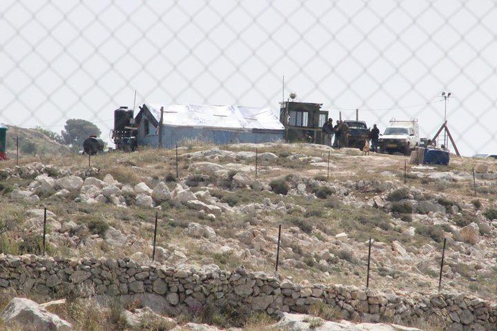 افشال محاولة استيلاء الاحتلال على اراضي في بلدة بديا