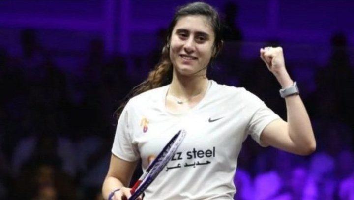 اللاعبة المصرية نور الشربيني تحرز لقب بطلة العالم لـ4 مرات