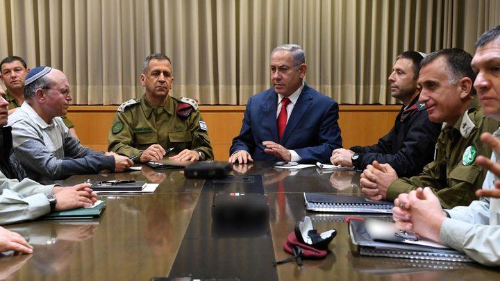 """نتنياهو يعقد إجتماعا طارئا في قاعدة """"كرياه"""" العسكرية"""