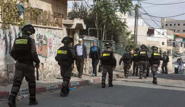 العيسوية: إضراب المدارس مستمر ردا على الاحتلال