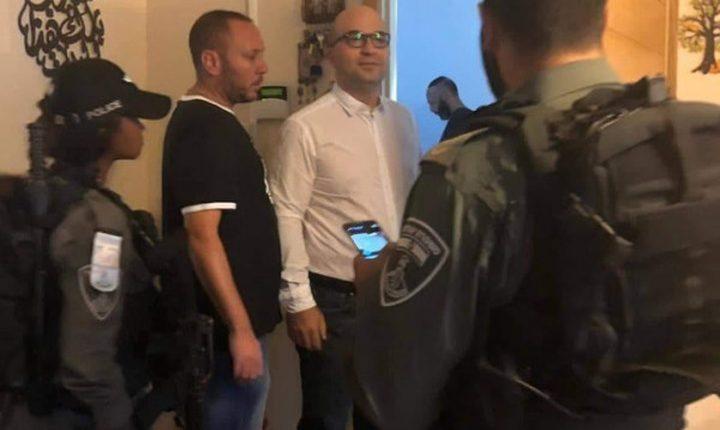 الاحتلال يفرج عن وزير شؤون القدس