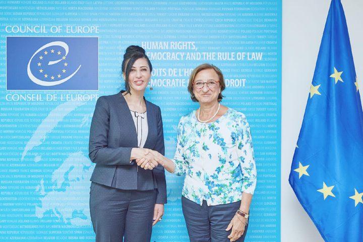 افتتاح أعمال اللجنة الفلسطينية الأوروبية المشتركة برام الله