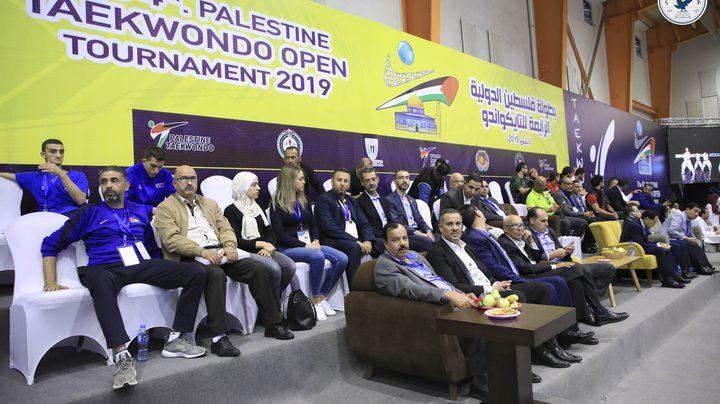 اختتام بطولة فلسطين الدولية للتايكوندو في جامعة النجاح