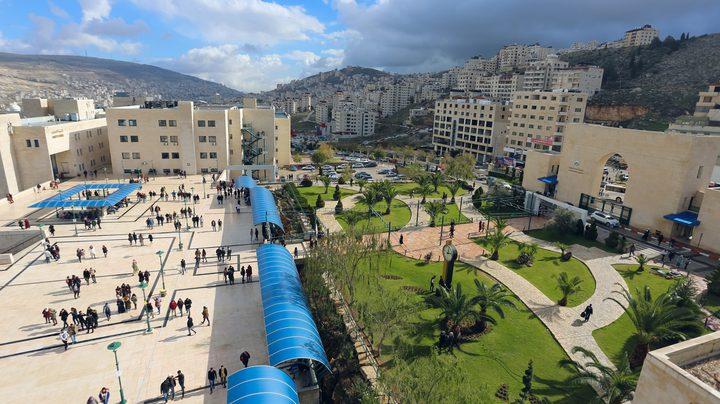 سير الامتحانات النهائية للفصل الدراســـــي الأول بجامعة النجاح