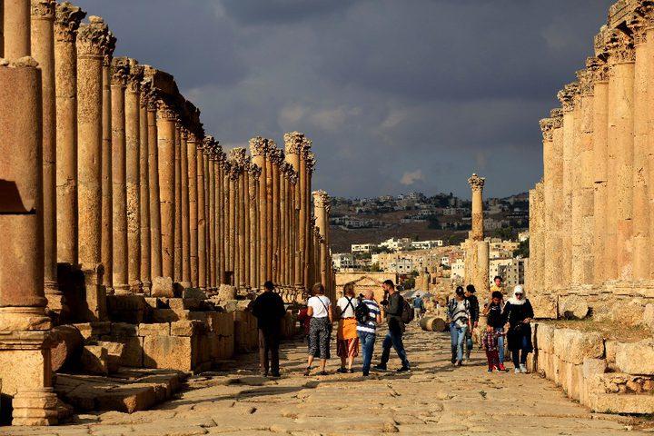 الأردن: طعن 3 سياح بمدينة جرش الأثرية