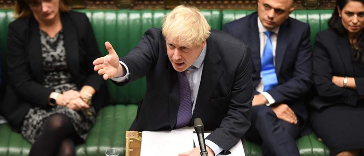 استقالة رئيس الوزراء البريطاني