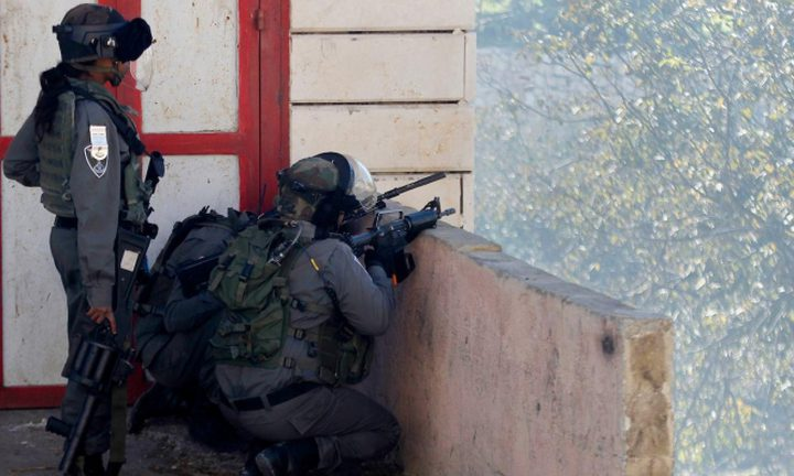 إصابة شاب برصاص الاحتلال شمال الخليل