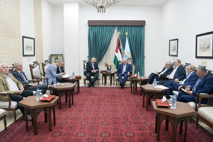 النضال ترحب بدعوة القيادة لإجراء الانتخاباتوالرئيس يلتقي ناصر