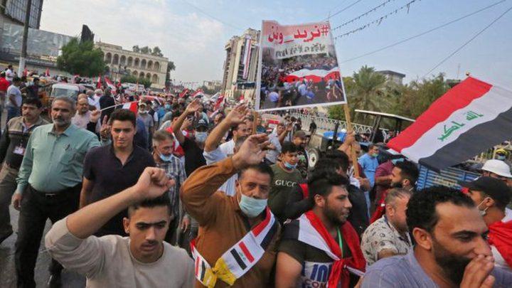 بغداد: تصاعد الاحتجاجات وإغلاق جسور