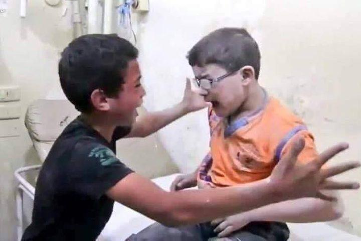 الأخوان السوريان حمزة وقيس هذا الطفل ظنَّ أنَّ أخاه قد مات ثمَّ وجده وكان هذا اللقاء حمزة وقيس 💔❤