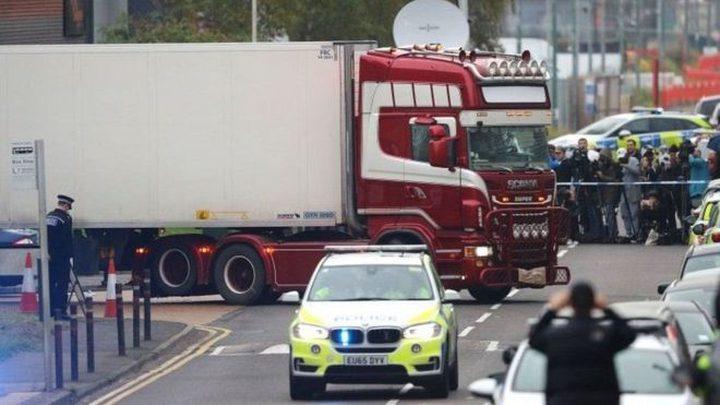 بريطانيا: ضحايا شاحنة التبريد الـ39 فيتناميون