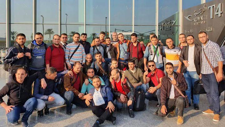 وصول دفعتين من معلمي غزة للكويت