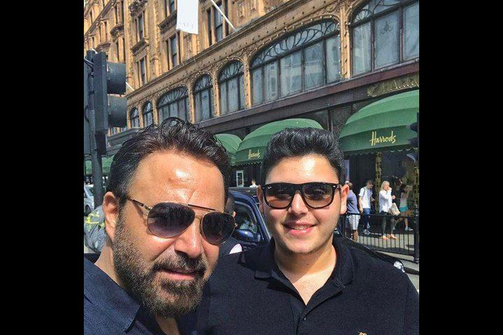 عاصي الحلاني يقدم ابنه لجمهور دار الأوبرا المصرية