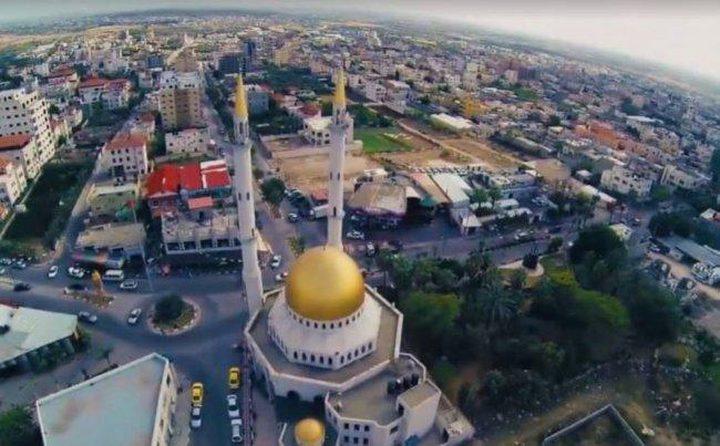 قلقيلية: افتتاح ميدان الشهيد ياسر عرفات