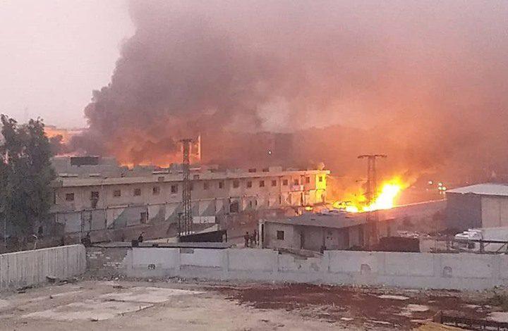 مقتل 8 أشخاص بانفجار سيارة مفخخة شمالي سوريا