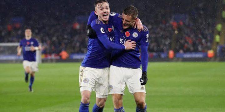 ليستر سيتي يفوز على أرسنال في الدوري الانجليزي