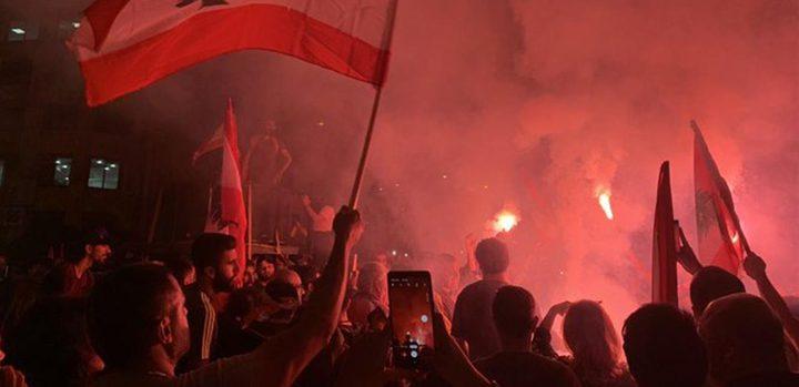 """الآلاف يحتشدون وسط العاصمة اللبنانية للمطالبة بحكومة """"تكنوقراط"""""""