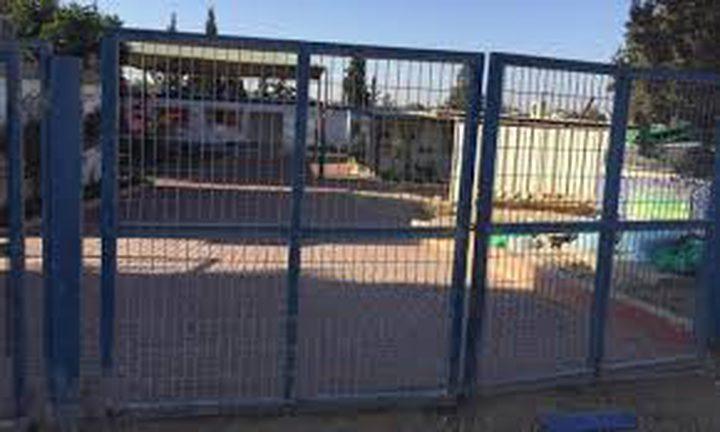 إضراب في 7 قرى احتجاجاً على تردي اوضاع مؤسسات التعليمية