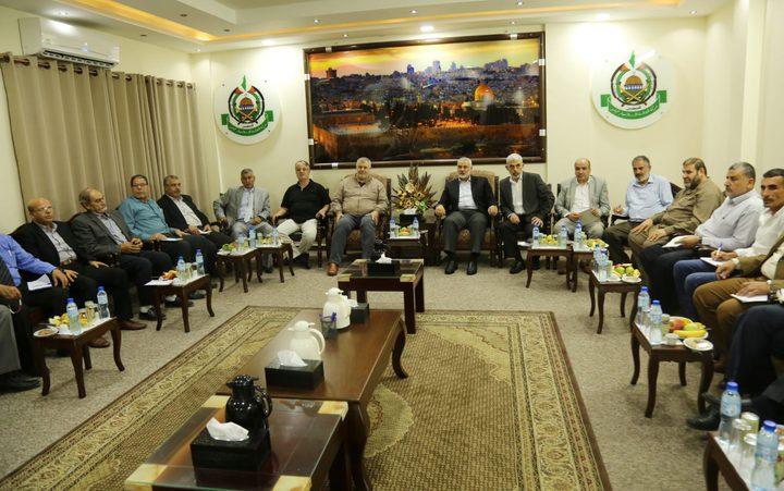 العوض: اجتماع طارىء للفصائل في قطاع غزة بدعوى من حماس