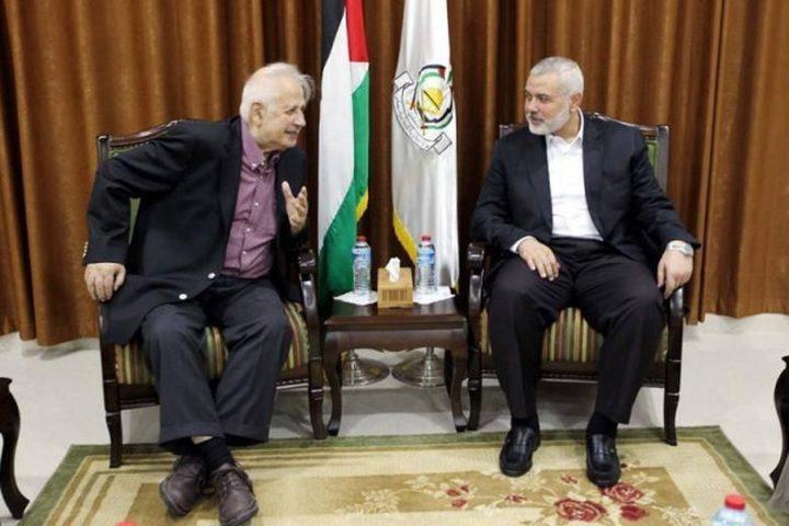 يوسف رزقة: حماس ستقدم موافقتها على اجراء الانتخابات لحنا ناصر