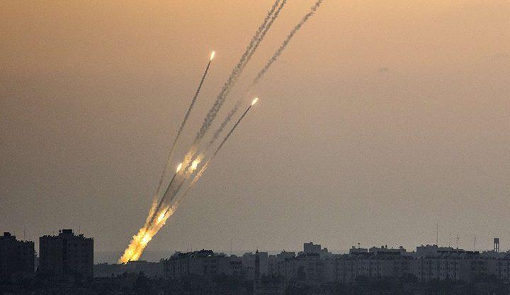 المقاومة تمطر المستوطنات بالصواريخ وصافرات الانذار تدوي