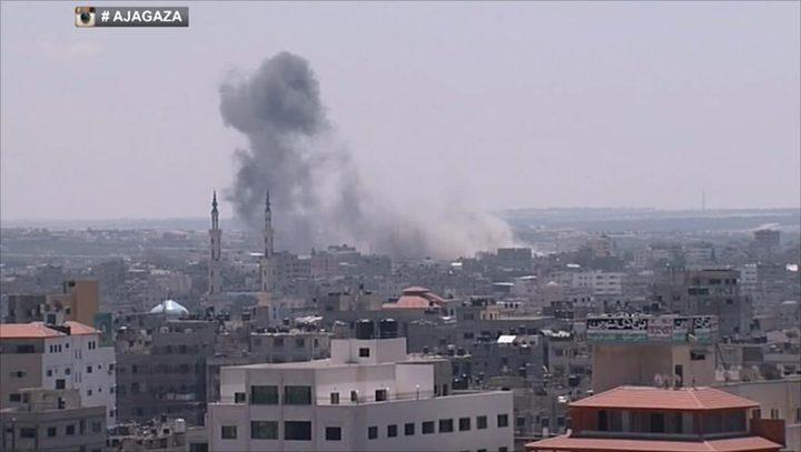 طيران الاحتلال الحربي يواصل قصف قطاع غزة