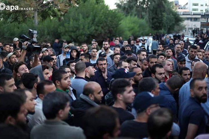 غزة تودع الشهيد بهاء أبو عطا الذي استشهد فجر اليوم الثلاثاء خلال قصف غزة