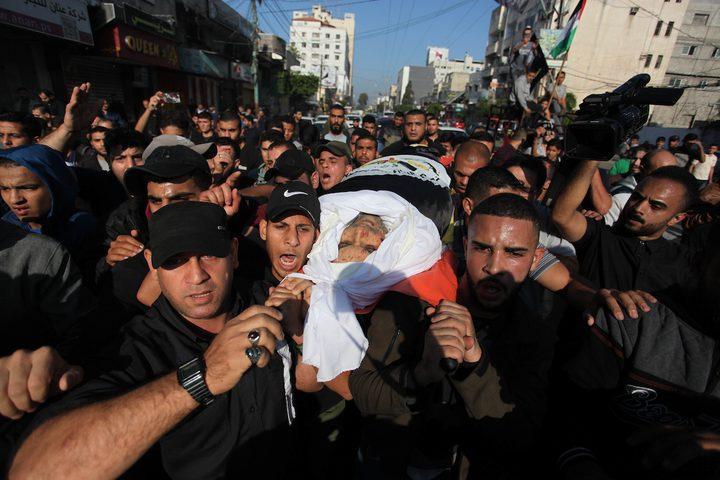 الجهاد: تشييع جثمان أبو العطا في المسجد العمري