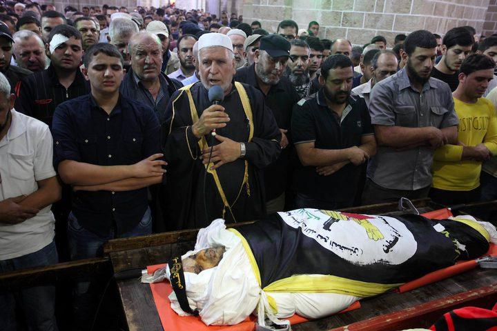غزة تودع الشهيد بهاء أبو العطا